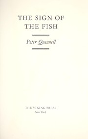 Cover of: The sign of the fish