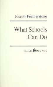 Cover of: What schools can do