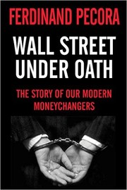 Cover of: Wall Street under oath