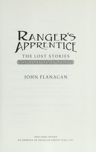 Ranger's apprentice : the lost stories by