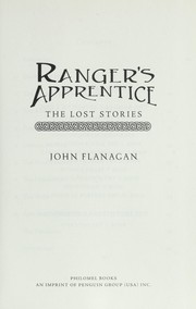Cover of: Ranger's apprentice : the lost stories |