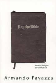 Cover of: PsychoBible | Armando Favazza
