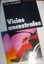 Cover of: Vicios Ancestrales by Tom Sharpe
