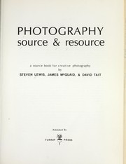 Cover of: Photography: source & resource