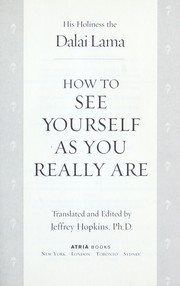 Cover of: How to See Yourself As You Really Are