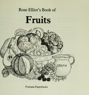Cover of: Rose Elliot's Book of Fruits