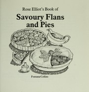 Cover of: Rose Elliot's Book of savoury flans and pies