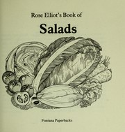 Cover of: Rose Elliot's Book of Salads
