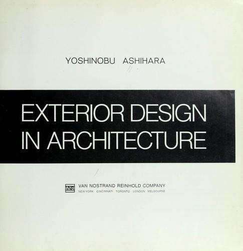 Great Exterior Design In Architecture. By Ashihara, Yoshinobu