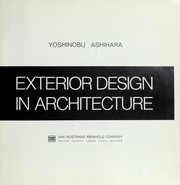 Cover of: Exterior design in architecture. | Ashihara, Yoshinobu