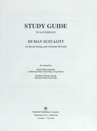 human sexuality study guide Quizlet provides human sexuality activities, flashcards and games start learning today for free.