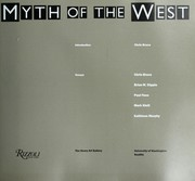 Cover of: Myth of the West