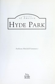 Cover of: Hyde Park