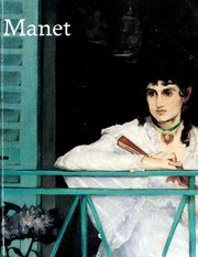 Cover of: Manet 1832-1883