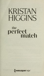 Cover of: The perfect match