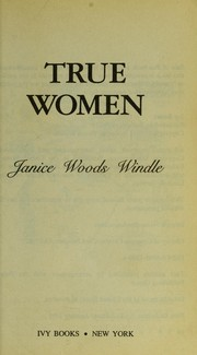 Cover of: True women