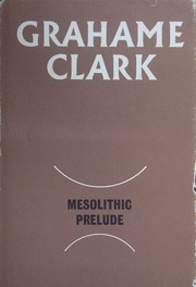 Cover of: Mesolithic prelude
