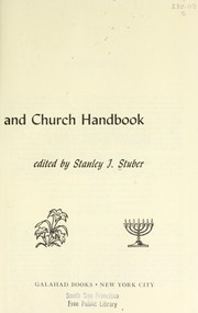 Cover of: The illustrated Bible and church handbook