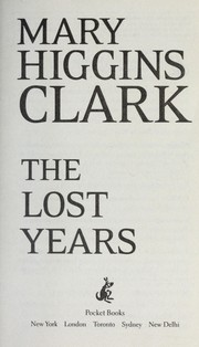 Cover of: The lost years