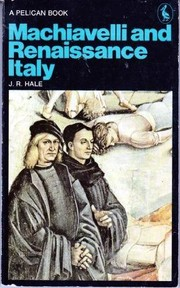 Cover of: Machiavelli and Renaissance Italy