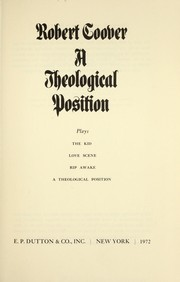 Cover of: A theological position : plays |