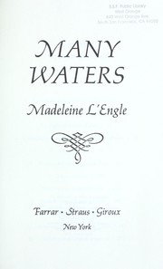 Cover of: Many waters by Madeleine L'Engle
