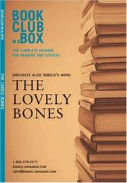 Cover of: Bookclub-in-a-Box Discusses The Lovely Bones, the Novel by Alice Sebold (Bookclub in a Box Discusses)