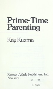 Cover of: Prime-time parenting