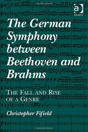 Cover of: The German Symphony Between Beethoven and Brahms |