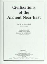 Cover of: Civilizations of the ancient Near East |
