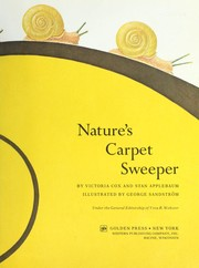 Cover of: Nature's carpet sweeper
