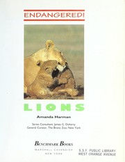 Cover of: Lions (Endangered)