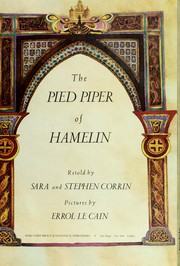 Cover of: The Pied Piperof Hamelin