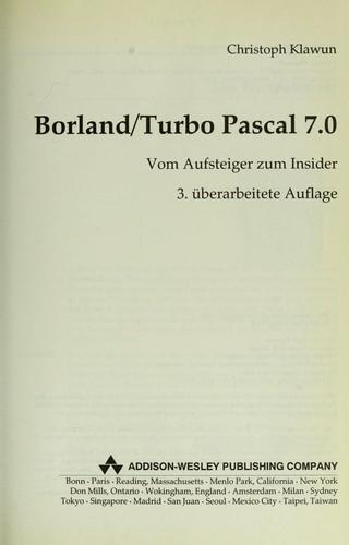 turbo paskal 7