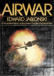 Cover of: Airwar | Edward Jablonski