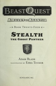 Cover of: Stealth the ghost panther