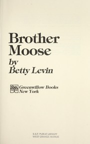 Cover of: Brother moose