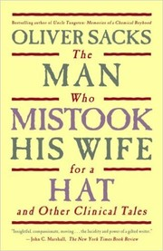 Cover of: The man who mistook his wife for a hat and other clinical tales/ Oliver Sacks