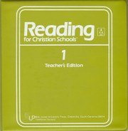 Cover of: Reading for Christian Schools |