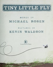 Cover of: Tiny Little Fly