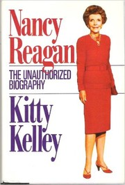 Cover of: Nancy Reagan: the unauthorized biography