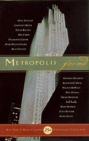 Cover of: Metropolis Found |