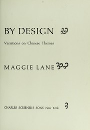 Cover of: Needlepoint by Design