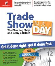 Cover of: Trade Show in a Day | The Planning Shop