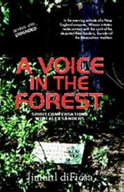 Cover of: A Voice in the Forest