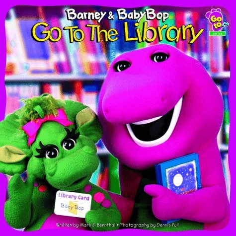 Barney and Baby Bob Go To The Library by Mark Bernthal
