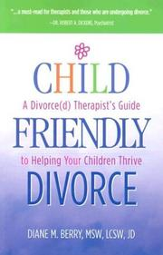 Cover of: Child-Friendly Divorce