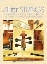 Cover of: All For Strings Book 1