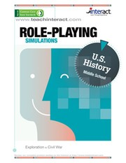 Cover of: ROLE-PLAYING SIMULATIONS Middle School U.S. History—Exploration to Civil War |