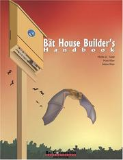 Cover of: The bat house builder's handbook